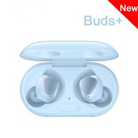 neue drahtlose bluetooth groihandel-New Galaxy Buds + Wireless Headset mit Wireless-Knospen + 2 Resists Wasser Sport Bluetooth Kopfhörer für S10 Plus Free shipping Lade