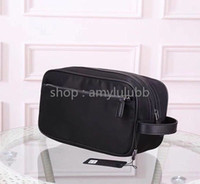 Wholesale make up days for sale - Group buy New high quality Clutch bag for men cosmetic bag women big travel organizer storage wash bag make up men purse Cosmetic case