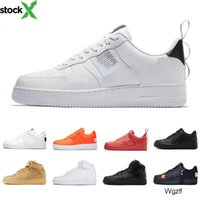 baixo corte tênis de basquete venda por atacado-HOT High Low Cut utility black Dunk Flyline 1 Jordon Basketball Shoes Classic Men Women Skateboarding Shoes White Wheat Trainers sports