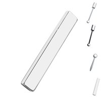 magische magnetstöcke großhandel-Nagel Doppelkopf Magnetstab Zauberstab Runde Lange 3D Magnetisches Nagelgel Magic Art Maniküre-Werkzeug