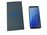 celulares android 1g ram venda por atacado-Goophone S10 S10 + Desbloqueado Smartphones Dual sim Android 8.1 octa núcleo 1G RAM 8G Mostrado Fake128 GB 4G LTE 6.3 polegadas GPS telefones celulares