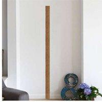 duvar için yükseklik çizelgeleri toptan satış-Cetvel yükseklik ölçüsü duvar çıkartmaları çocuk odaları için çocuk ev dekor büyüme tablosu posteri duvar duvar çıkartması