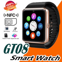 Wholesale 32gb tf card for android for sale – best GT08 Smartwatch Bluetooth Smart Watch Phones Support GSM GB TF Card Touch Screen smartwatch Bluetooth Watches