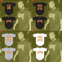 ordens de filme venda por atacado-16 Drake Verão Revenge Baseball Jersey Filme Personalizado Personalizado de Alta Qualidade Frete Grátis Barato Baseball Jerseys Ordem Mix