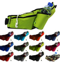 Wholesale travel purses for sale - multi function Outdoor kettle waist bags running purse travel fitness pack Sports Waist Pack Outdoor Waist Bag LJJK1299
