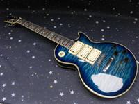 mejores pastillas de guitarra eléctrica al por mayor-El mejor cuello de una pieza de Ace frehley firma 3 pastillas de guitarra eléctrica envío gratis