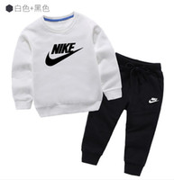 Wholesale girls christmas sweaters resale online - 2019 Baby Clothing Sets years Children s Garment Autumn And Winter New Pattern Male Girl Sweater Suit childrens jacket clothes coatsets