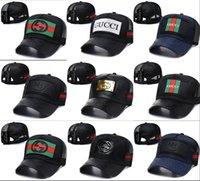yaz şapkaları erkek toptan satış-2019 Yeni marka erkek tasarımcı şapka snapback beyzbol kapaklar lüks lady moda şapka yaz trucker casquette kadınlar nedensel top kap yüksek kalite