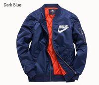black nylon windbreaker 도매-캐주얼 디자이너 재킷 남성 의류 Polit 재킷 육군 녹색 다크 블루 블랙 크기 S-6XL 지퍼 나일론 남성 자 켓 패션 스포츠 용 재킷
