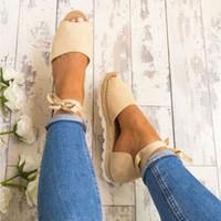 t couvre achat en gros de-Filles Plage Chaussures Plates Été Poisson Bouche Fourre-Tout Respirant Sandales Femmes Plage Sports Cover-heel Tieback Sandales