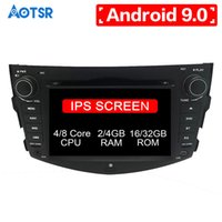 Wholesale auto radio dvd android for sale - Group buy Android core Car DVD CD player GPS Navigation For Toyota RAV4 Multimedia system din radio Auto Stereo