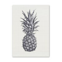 Wholesale oil painting for wall decoration for sale - Group buy W196 Pineapple Unframed Wall Art Canvas Prints for Home Decoration
