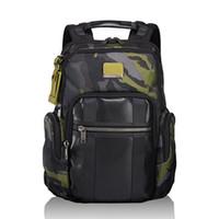 Wholesale pvc swimming bags resale online - 2019 TUMI Ballistic nylon ballistic waterproof backpack tumi years new Alpha Bravo inch computer bags Sport Outdoor Packs