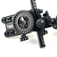 ingrosso tecnologia in alluminio-Arco composito Quasi-alluminio Puntatore regolabile Tecnologia HRD Tiro con l'arco Caccia / tiro Arco compound Ago singolo Mirare per sparare