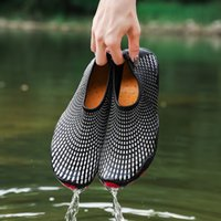 ingrosso flip flop blocca gli uomini-Classic Slip On Garden Clog Shoes Women Quick Drying Summer Beach Slipper Hollow Flip Flop Outdoor Sandali Uomo Aqua Water Shoes