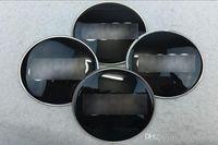 audi a4 ступицей оптовых-56.5 мм 65 мм AUDI логотип Ступица колеса Центр Колпачки Эмблема Колесо Наклейка Для Audi A4 A6 Q3 Q5