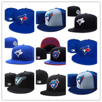 Wholesale sports toronto resale online - New Hot Toronto On Field Baseball Fitted Hats Sport Team Logo Embroidery blue jays Full Closed Caps