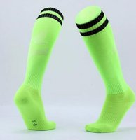 Wholesale best color basketball resale online - best online Football long tube towel bottom socks group purchase outdoor sports training game socks a hair substitute solid color sport wear