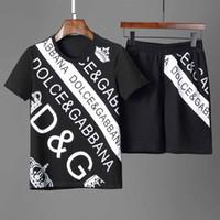 ingrosso magliette a manica lunga da uomo-Designer Summer Sweatshirts Mens T-shirt e shorts Abbigliamento Uomo corto Tute Giacche Completi sportivi Completi da jogging Felpe con cappuccio