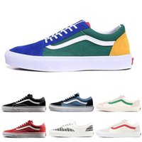 8ff24f3d0fe Wholesale vans shoes canvas online - New Hot YACHT CLUB Vans old skool FEAR  OF GOD