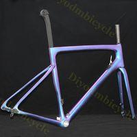 bisiklet çerçeve boyama toptan satış-SL6 Karbon-Yol-Frame yarışı Karbon Tayvan Di2 Mekanik Işık V Fren Karbon-Yol Çerçeve Disk Bisiklet Çerçeve Disk-Frenler Boya İŞLERİ