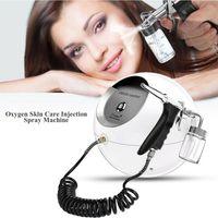 Portable O2 Oxygen Sprayer Water Injection Face Spray Beauty Instrument Acne Removal Skin Care Rejuvenation Moisturizing SPA