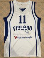 34c29473435 Wholesale basket jersey online - New PETTERI KOPONEN FINLAND EURO BASKET Basketball  Jersey All Size Embroidery
