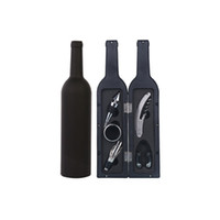 accessoires de pneus achat en gros de-Décapsuleur 5 pièces dans un ensemble de vin rouge Tire-bouchon Haute Vins de qualité Cadeau Accessoire Boîte 16 8FH C R
