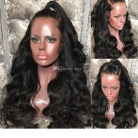 Wholesale best glueless lace front wigs for sale - Group buy Full Lace wigss Best wigs Unprocessed Virgin Hair Malaysian Body Wave Full Lace wigs Glueless Lace Front Human Hair wigss With Baby Hair