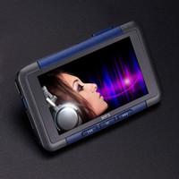 e kartenleser großhandel-MP4 5 Player 3 '' Slim LCD Bildschirm Musik Video-Player Rekorder E-Book Reader FM Radio 8G Unterstützung 32GB TF Card Music Player