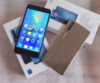 zelle 2gb ram doppelsim großhandel-NEUES Huawei p30 Handy 5.5 Zoll 3D Android 8.1 MTK6580A Viererkabelkern 4 smartphone ruft DoppelSim 2GB RAM 16GB ROM Show 64GB Fälschung 4G LTE DHL an