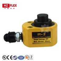 Wholesale thin cylinder for sale - Group buy Thin Type Hydraulic Cylinder DFPY Hydraulic Jack with height of mm work travel of mm