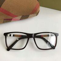 rahmen 17 großhandel-Newl Quality BE2283 prägnante rechteckige Unisex-Brille Rahmen 54-17-140 Plaid Designer für Brillen pure-Plank fullset Fall