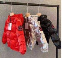 ingrosso migliori cappotti di marca di marca-migliore trasporto Nuovo arrivo M marchio ragazzi inverno piumino per le ragazze giù parka giù luce calda grandi bambini cappotto ragazzi ragazze vestiti 3T-11T