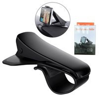 Wholesale universal dashboard car mount phone online – Universal Car Mount Cell Phone Holders Adjustable Dashboard HUD Simulating Design Car Stands For iPhone Samsung Huawei with Retail Packages
