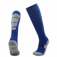 Wholesale quality hose resale online - quality new Knee High cotton Adult kids soccer Sports socks w wq as Thicken Towel hoses football socks