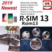 ingrosso sblocco della mela-Vendita calda RSIM13 sblocco scheda per iPhone ios12 Max XR X r sim 13 R-SIM 13 Attivazione intelligente sblocco scheda SIM iccid sblocco iPhone 6/7/8 IOS12