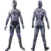 ingrosso costumi uomo collant-Uniformi Super Hero Cosplay Halloween Spider-Man costume cosplay bambini Abbigliamento Slim Cosplay Collant partito Abbigliamento Body Lungo Plus Size