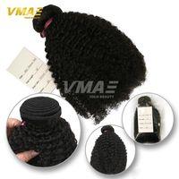 4a cheveux vierges achat en gros de-NOUVELLE Arrivée Mongolienne Kinky Bouclés Vierge Cheveux 1 Bundle 4A 4B 4C 3A 3B 3C 8-30 pouces Extensions De Tissage De Cheveux