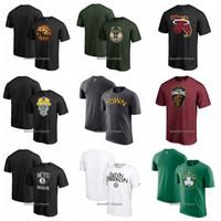 neonhemd männer großhandel-Männer Frauen Jugend Bulls 76ers Bucks Heats Netze Celtic Neon Victory Arch T-Shirt