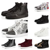 erkek modası süet ayakkabı toptan satış-christian louboutin sneakers balo gece KAZANAN 82 96 UNC PRM Heiress Gama Mavi platin Tonu Getirmek Concord mens ayakkabı spor Sneaker