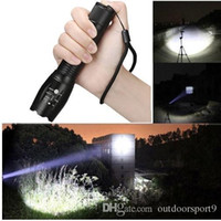 Wholesale diving flashlights torches for sale - Group buy 2018 NEW Cree XM L T6 LED Super Bright Modes Flashlight Hunting Torch Lamp Light Led Flash Light Lamp Bright Lighting
