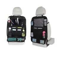 Wholesale touch screen tablets for kids resale online - Car Back Seat Organizer With Touch Screen Tablet Holder Compartments Kick Mats Car Seat Back Protectors For Kids Toddlers