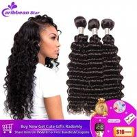 doğal gevşek kıvırcık saç uzantıları toptan satış-Brezilyalı Sapıkça Kıvırcık Düz Vücut Dalga Gevşek Dalga Derin Dalga Bakire Saç Atkı Doğal Siyah Brezilyalı Kıvırcık Virgin İnsan Saç uzantıları