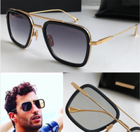 Wholesale uv protective sunglasses resale online - mens sunglasses men sunglasses designer sunglasses man square frames vintage popular style uv protective outdoor eyewear with box