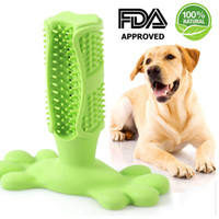 jouet oral de bouche achat en gros de-Brosse à dents pour animaux de compagnie, nettoyage des dents, jouet à mâcher, bâton de brosse à dents pour petits chiens de taille moyenne et grande, soins buccaux, nettoyage de la bouche approuvé par la FDA
