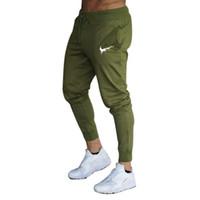 ingrosso uomini di tuta sportiva-Pantaloni sportivi da uomo Pantaloni sportivi Fitness Uomo Abbigliamento sportivo Pantaloni tuta Pantaloni sportivi pantaloni neri Pantaloni da ginnastica Pantaloni da jogging