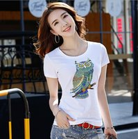 ingrosso tee labbra-Sexy Lips Print Summer Magliette Donna T-shirt bianche Casual donna 2019 Tee Shirt Femme manica corta Tops Floral Chemise
