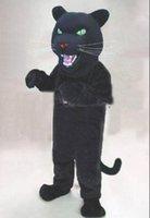 mascote rei venda por atacado-2019 pantera negra quente Traje Da Mascote Tamanho Adulto Animal Selvagem Masculino Rei Festa de Carnaval EMS NAVIO LIVRE