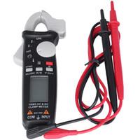 multímetro de corrente contínua venda por atacado-Mustool MT866 Digital Verdadeiro RMS Clamp Meter Multímetro AC Tensão DC Resistência Atual Capacitância Hz Temperatura Tester